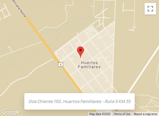 Google Map de Casa Amaranta